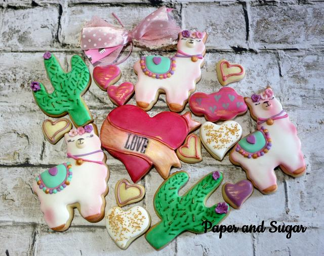 I Llama love you, Cookies