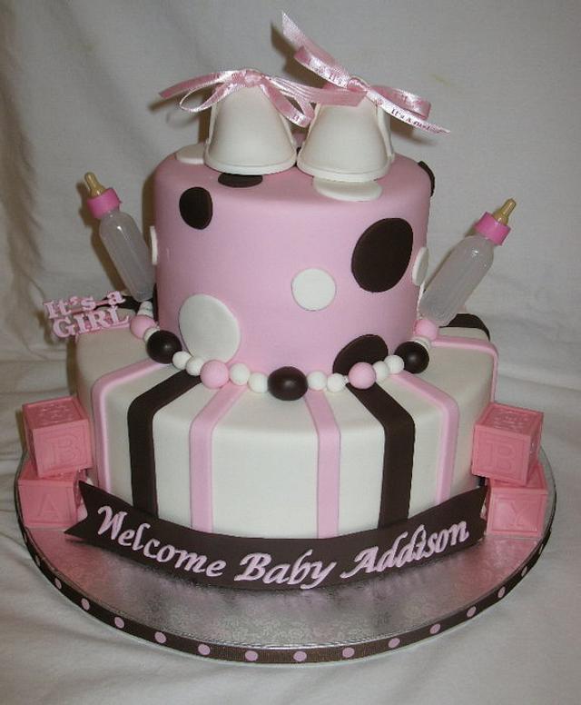 Pink & Brown Baby Shower