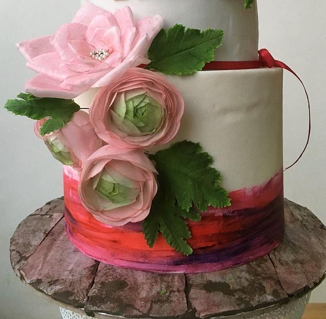 Deepa's Birthday Cake