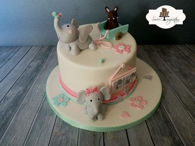 Cute Elephant Cake Inspired By Liis Elephant Cake From Cakesdecor