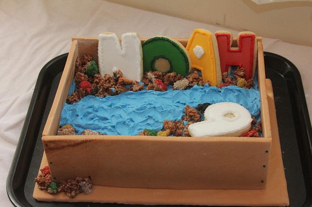 Gem Mining Cake