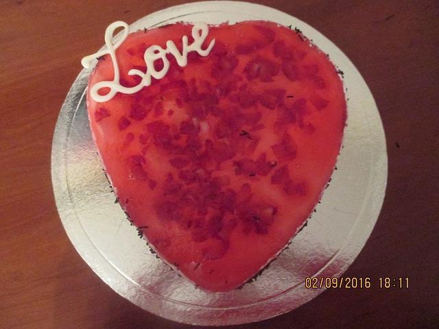 Valentine´s cake
