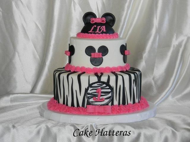 Zebra Minnie