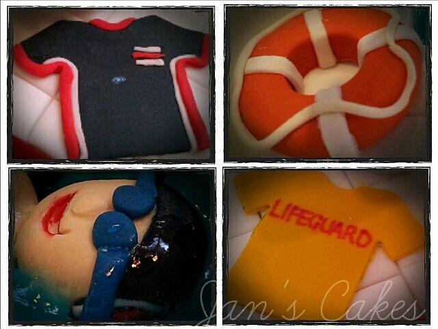 Swimming Gala 18th Birthday cake