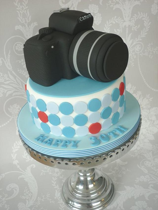 Canon Camera Birthday Cake