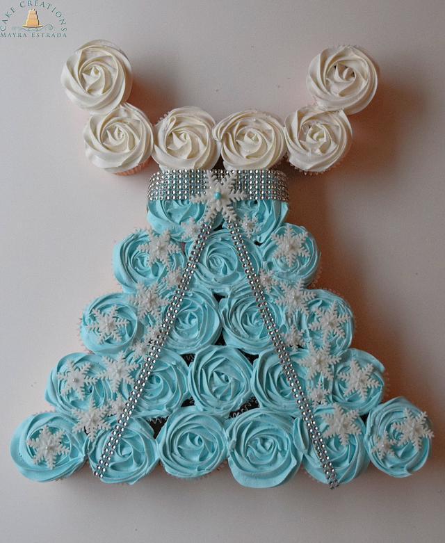 Frozen Princess Cupcake Dress