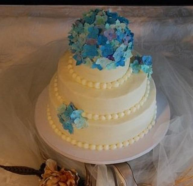 Best Friend's Wedding Cake