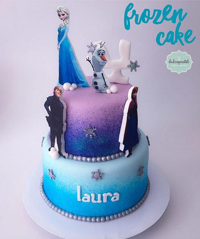 Torta Frozen - Frozen Cake