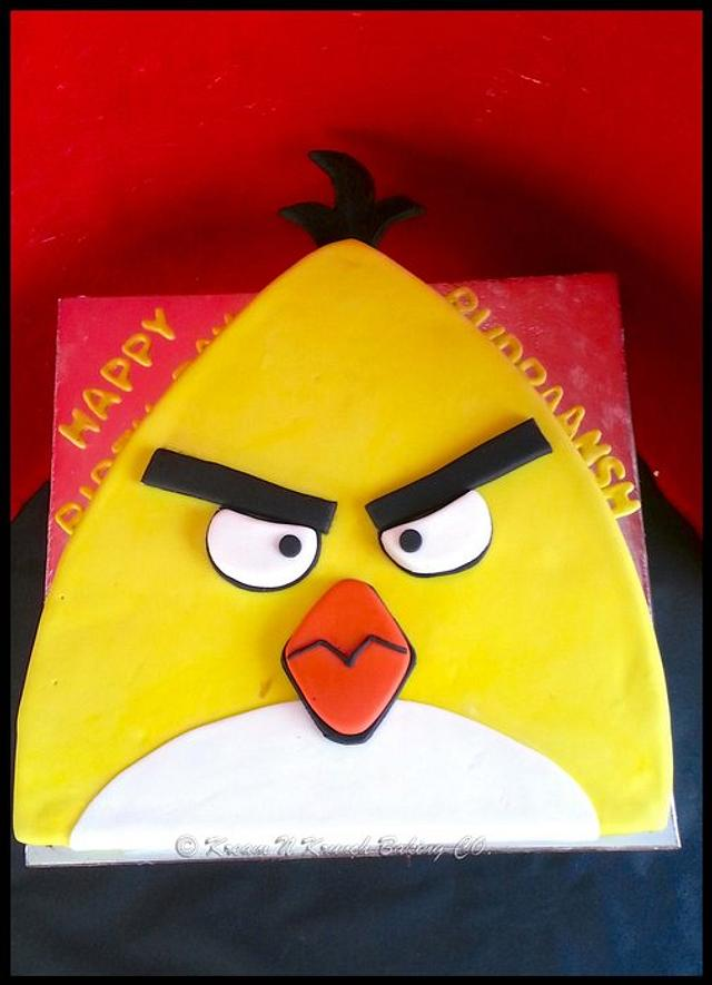 Yellow Angry Birds!