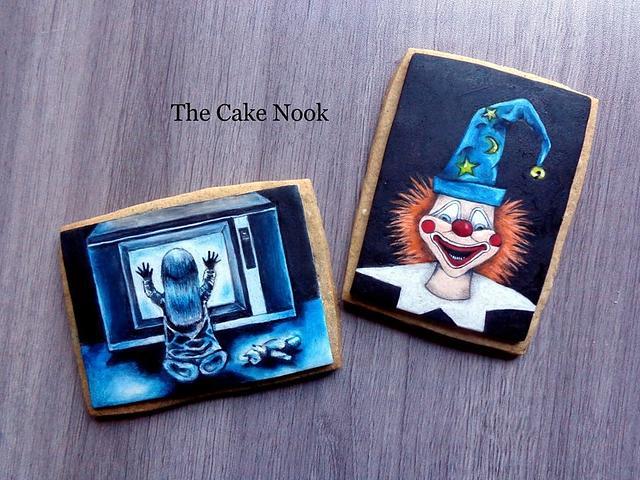 👻 Poltergeist horror film cookies. 👻