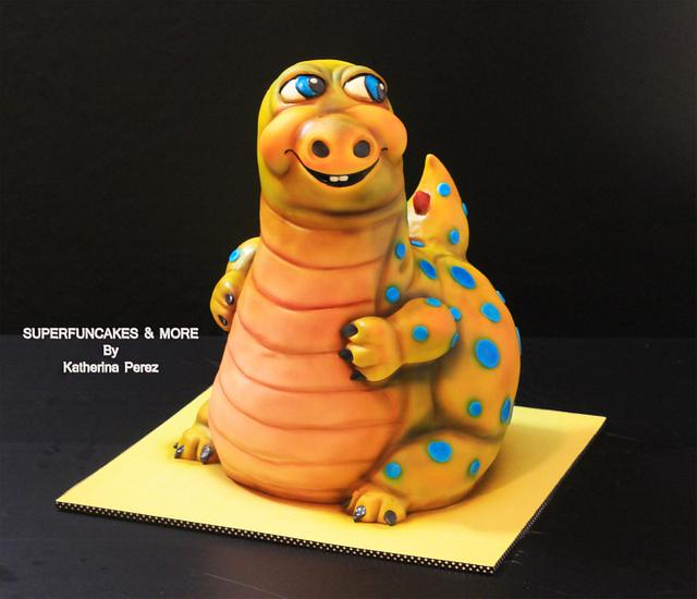 Markus, the yellow Dino