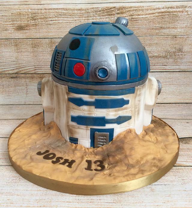 R2-D2 cake