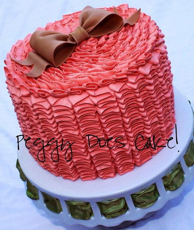 Another Ruffle Cake