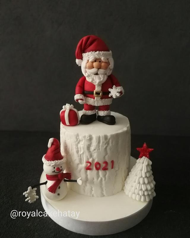 Happy Santa Cake😊