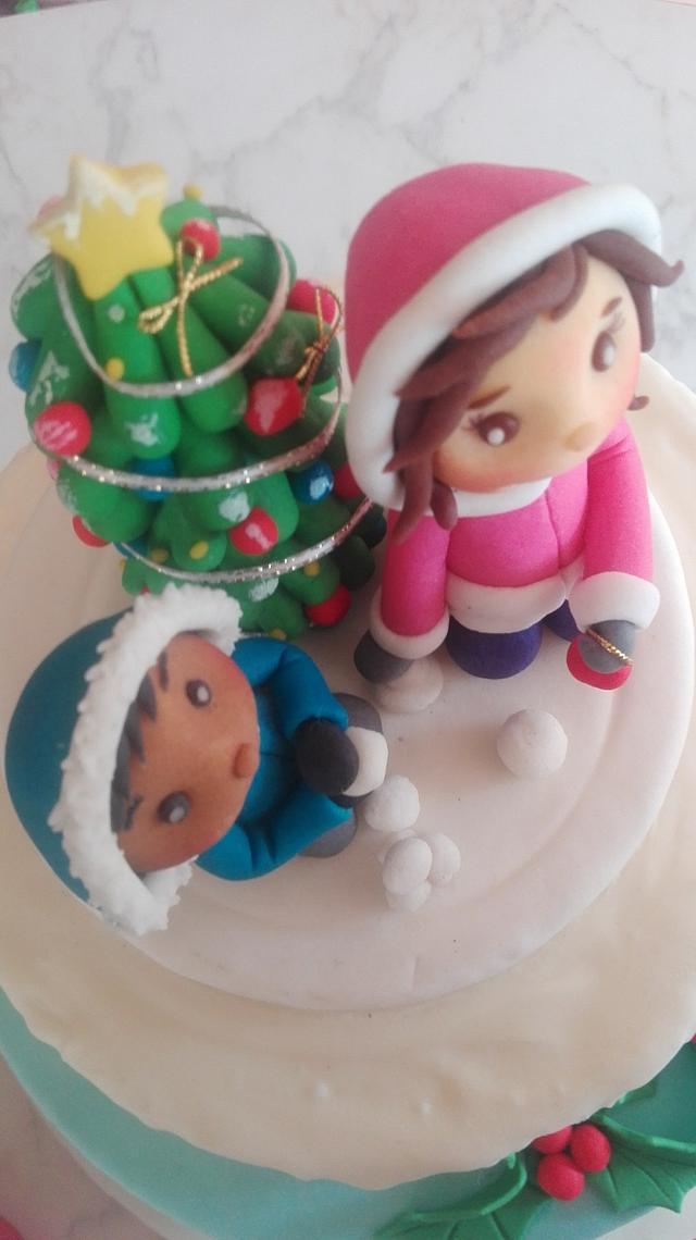 Sweet Christmas Cake Collaboration Chile, Dic. 2016