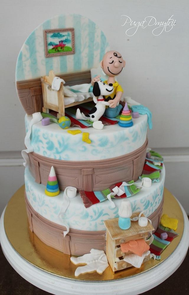 Snoopy and trifle paunchy
