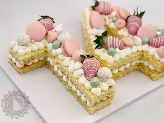 14th Birthday Number cake