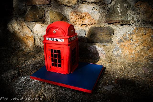Telephone box 3D