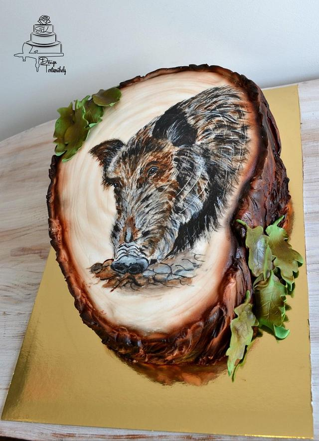 Wildboar cake