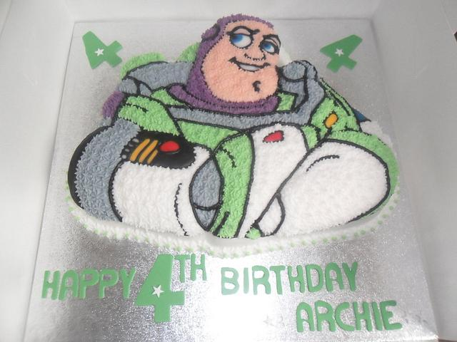 walt disney toy story buzz lightyear birthday cake