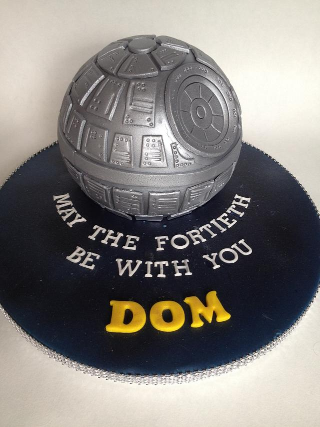 Death Star cake :-)