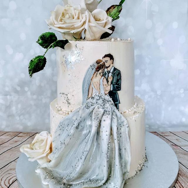 Painted wedding