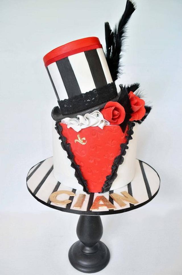 Burlesque Theme Hens Night Cake