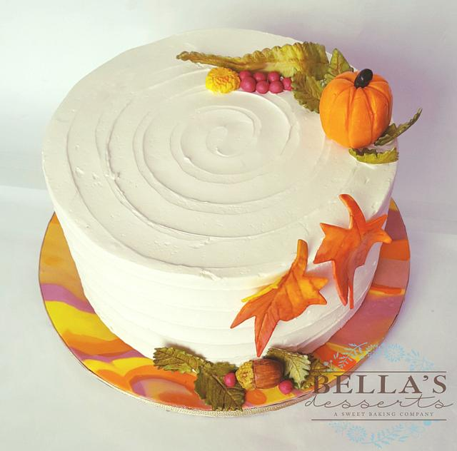A lovely Thanksgiving cake