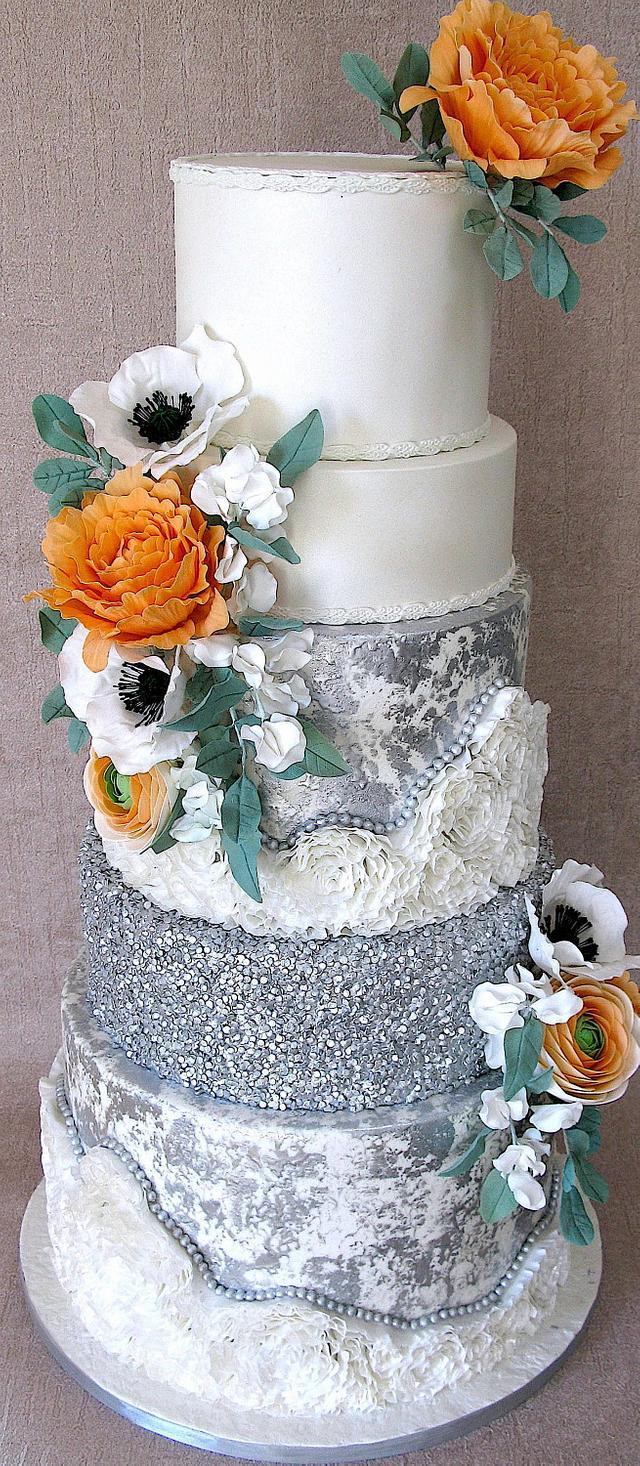 Shine Bright.. wedding cake