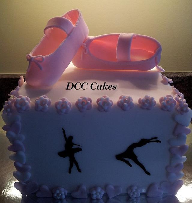 Simple Ballerina Cake