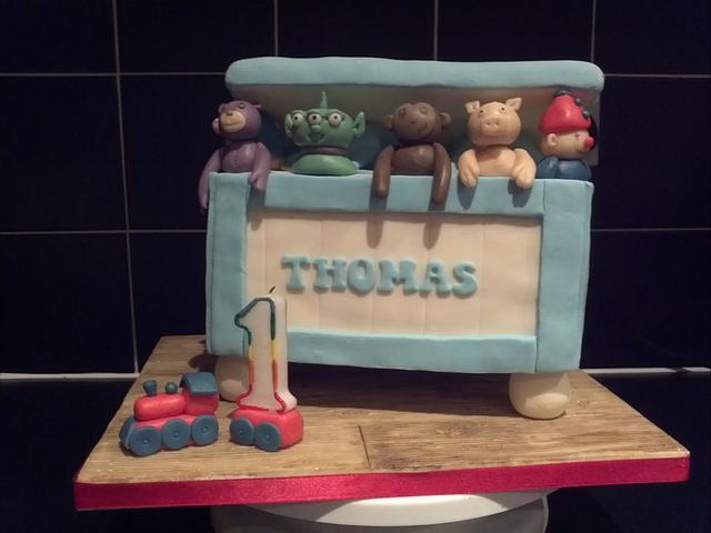 Wondrous My Baby Boys First Birthday Cake Cake By Fancybakes Cakesdecor Personalised Birthday Cards Petedlily Jamesorg