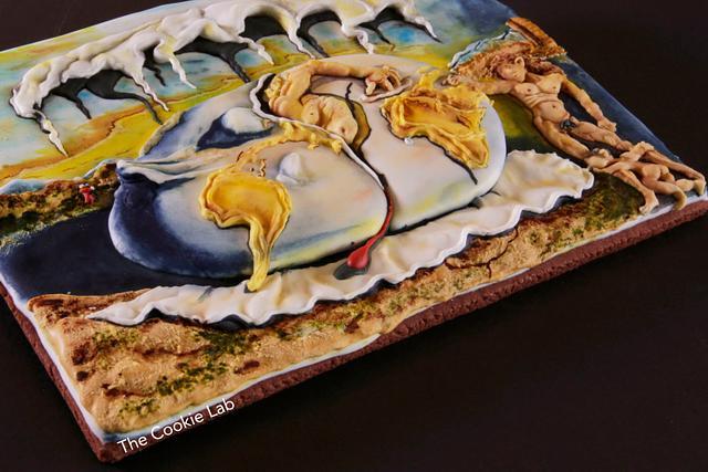 "Sugar Art Museum Collaboration -  ""My Dali Cookie"""