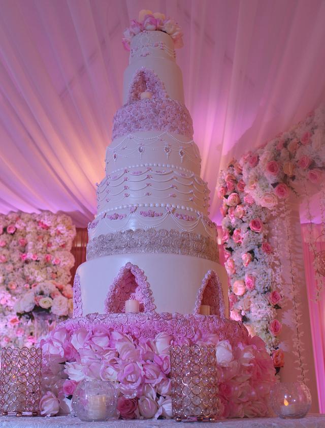 Pink Floral Dream Cake