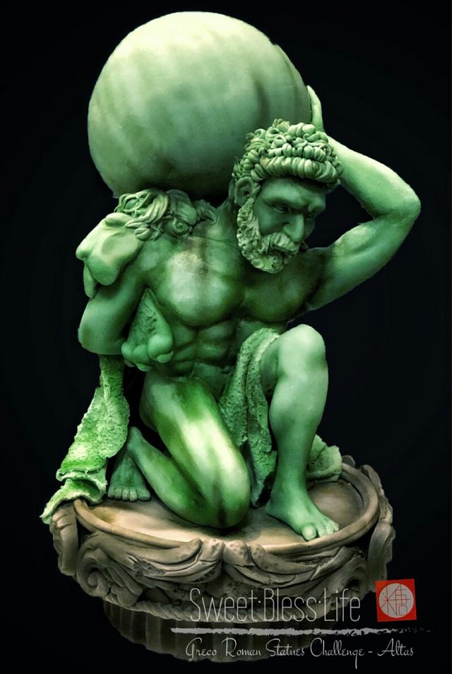 Greco Roman Statue Challenge - Altas