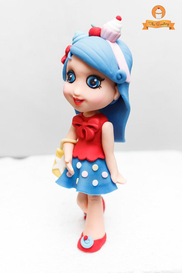Shopkins Jessicakes Figurine