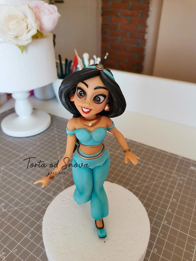 Jasmine cake topper 💕