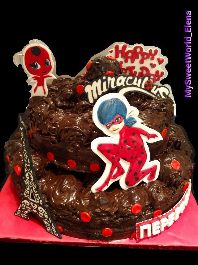 Miraculous Ladybug birthday cake 🐞