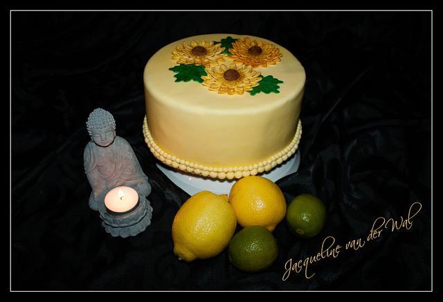 LemonCurd SpringCake