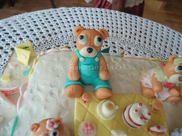 Teddy bear ...tea party