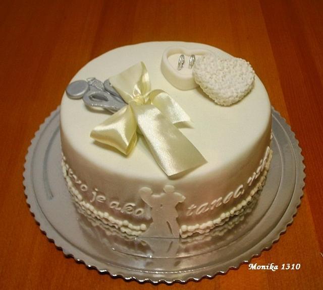 Wedding cake unusual