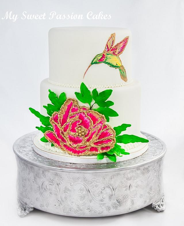 Wedding cake with a difference ;)
