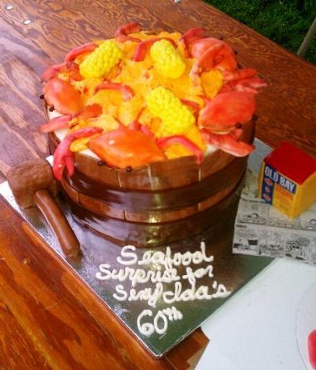 Crab Barrel Cake