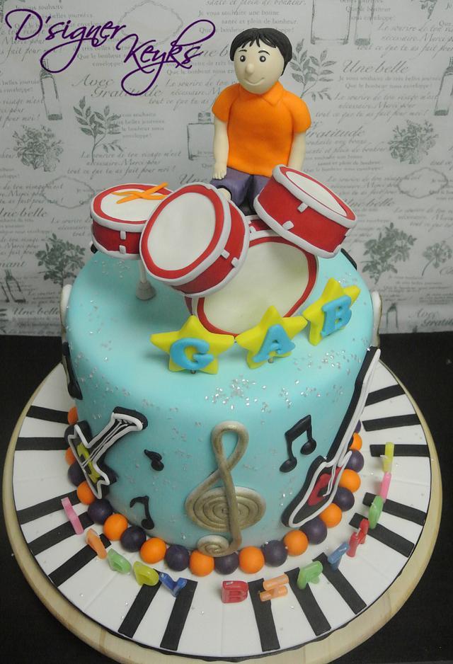 Musical Theme Cake