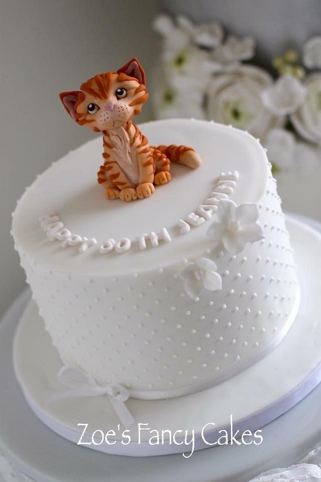 Puuuurfectly simple Birthday cake