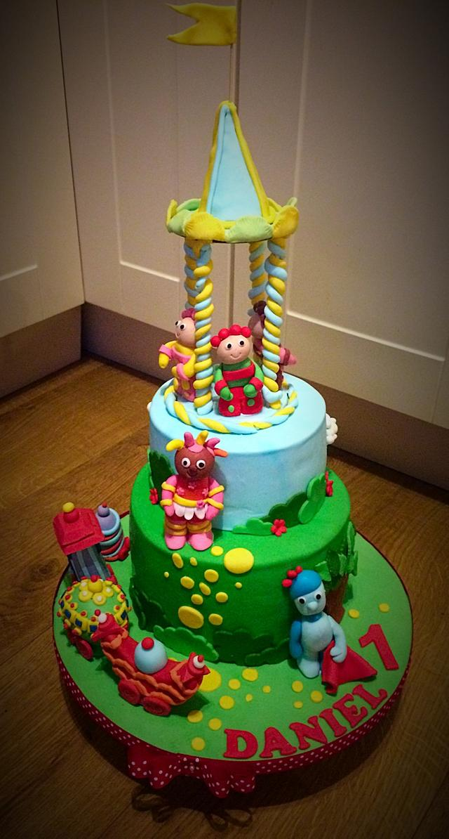 Excellent In The Night Garden 1St Birthday Cake Cake By Rhian Cakesdecor Funny Birthday Cards Online Overcheapnameinfo
