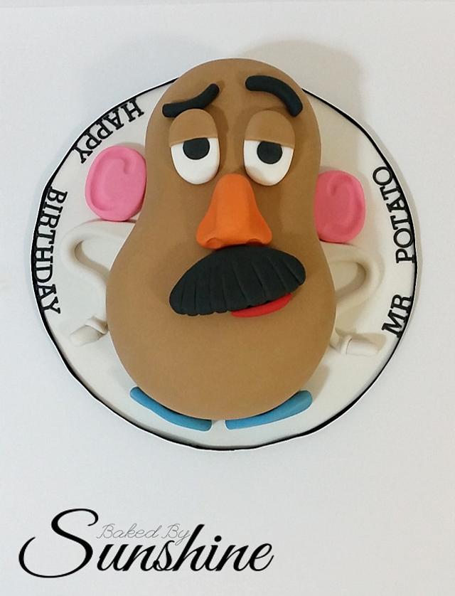 Remarkable Happy Birthday Mr Potato Cake By Baked By Sunshine Cakesdecor Personalised Birthday Cards Veneteletsinfo