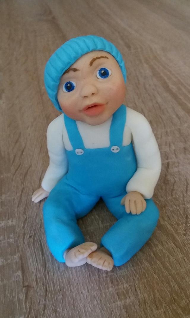 baby boy cake topper ❤
