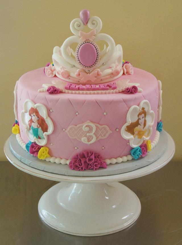 Surprising Disney Princess Birthday Cake Cake By Cakesdecor Birthday Cards Printable Trancafe Filternl