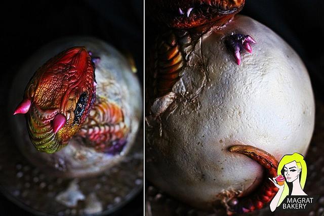 Dragon Egg Cake