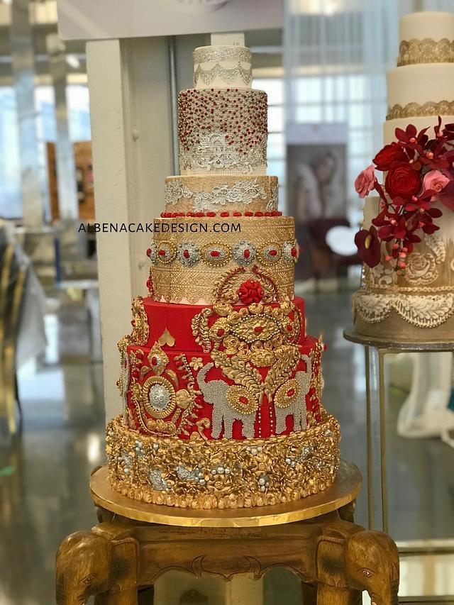 Indian Wedding Cake 4